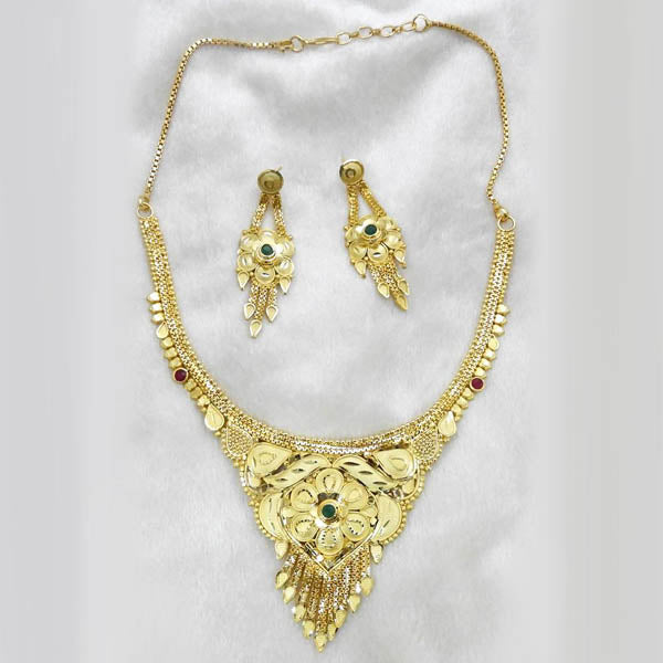 Neu Gold Forming Gold Plated Copper Necklace Set