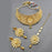 Bajrang Kundan Stone Copper Necklace Set With Maang Tikka