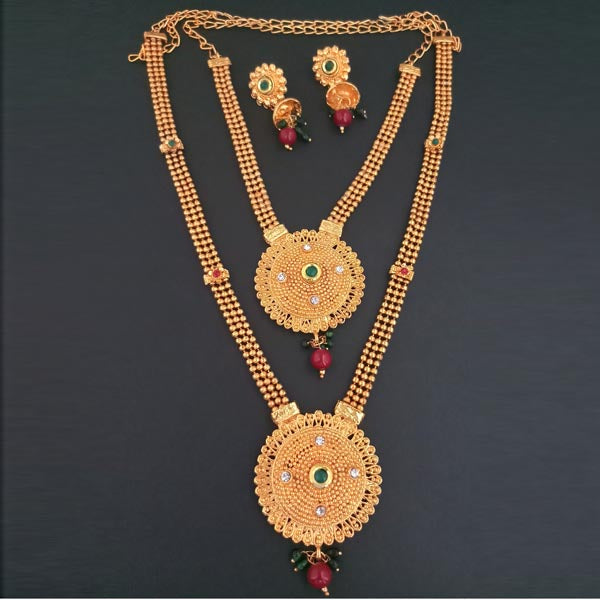 Bajrang Arts Double Copper Necklace Set