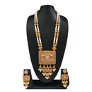 Real Creation White Pearl Copper Necklace Set