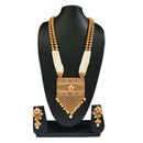 Real Creation Pearl White Copper Necklace Set