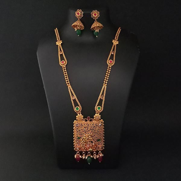 Real Creation AD Stone Copper  Necklace Set