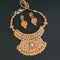 Ganpati Arts Stone Copper Necklace Set