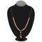 Umiyaji Gold Plated Stone Black Beads Mangalsutra