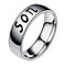 Mahi Rhodium Plated Exclusive Casual Designer Finger Ring For Son