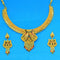 Mahavir Forming Gold Necklace Set - JAI SET 21 OXD