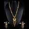Mahavir Forming Look Gold Plated Long Necklace Set - KP SET SK 20