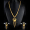 Mahavir Forming Look Gold Plated Long Necklace Set - KP SET SK 21