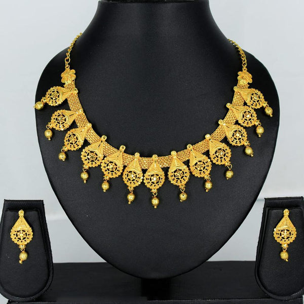 Mahavir Forming Gold Necklace Set - KP SK-14 SET