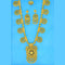 Mahavir Forming Look Gold Plated Long Necklace Set - KR LONG SET 6502