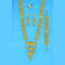 Mahavir Forming Look Gold Plated Long Necklace Set - KR LONG SET 6729