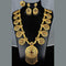 Mahavir Forming Look Gold Plated Long Necklace Set - KR LONG SET 7626
