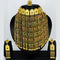 Mahavir Forming Gold Necklace Set - MARTASHA SET 7001