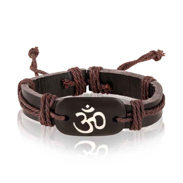 Asmitta Brown Attractive Look Mens Bracelet