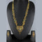 Mahavir Forming Look Gold Plated Long Necklace Set - MIS SET 1785