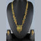 Mahavir Forming Look Gold Plated Long Necklace Set - MIS SET 1786