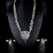 Mahavir Silver Oxidised Necklace Set - MIS SET 1910
