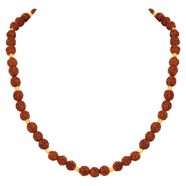 Asmitta Multi Stone Mens Mala Necklace -MM522KNGLDA4