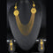 Mahavir Forming Look Gold Plated Multi Layer Necklace Set - MOH SS 22 SET