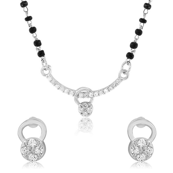 Mahi Frolicsome Mangalsutra Set with CZ