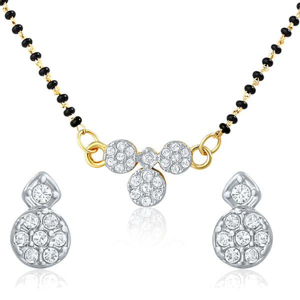 Mahi Daily Wear Mangalsutra Set of Alloy with Cubic Zirconia