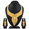 Asmitta Fancy One Gram Gold plated Choker Necklace Set For Women