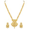 Asmitta Gold Plated Stylish Necklace Set -NS734KJGLDSS5