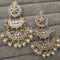 Om Creation Gold Plated Designer Kundan Dangler Earrings  - OmEar69