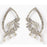 Soha Fashion Stone Silver Plated Dangler Earrings