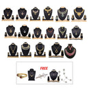 14Fashions Set Of 22 Jewellery Combo