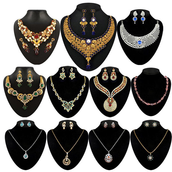 14Fashions Set Of 11 Jewellery Combo