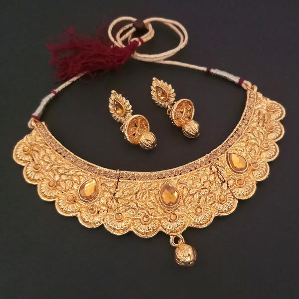 Utkrishtt Kundan Stone Necklace Set