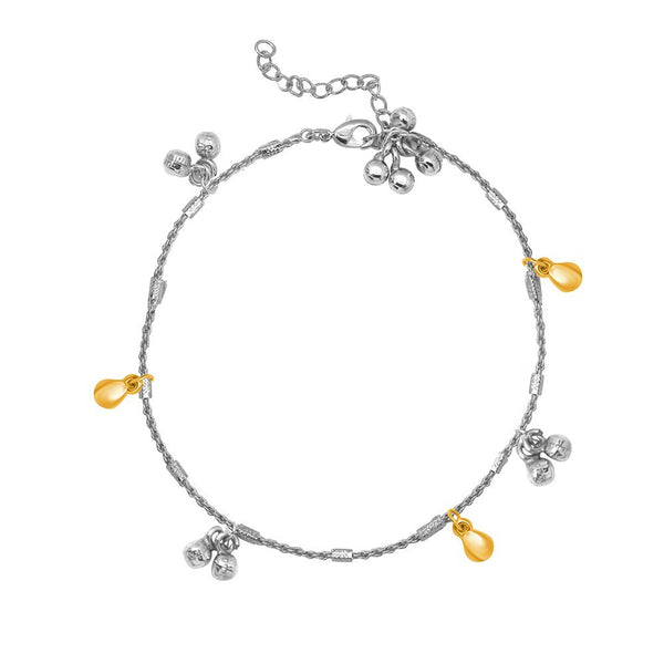 Mahi Exquisite Ankle Bells (ghungaroo) Anklet