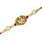Mahi Gold Plated Exquisite Lord Krishna Rakhi Bracelet for Kids / Mens RA1100610G