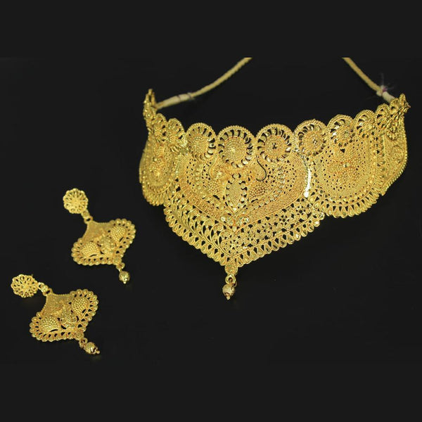 Mahavir Forming Gold Necklace Set - SI B-1 SET