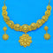 Mahavir Forming Gold Necklace Set - SI SET 11