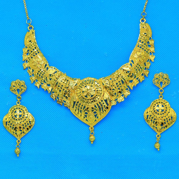 Mahavir Forming Gold Necklace Set - SI SET 3