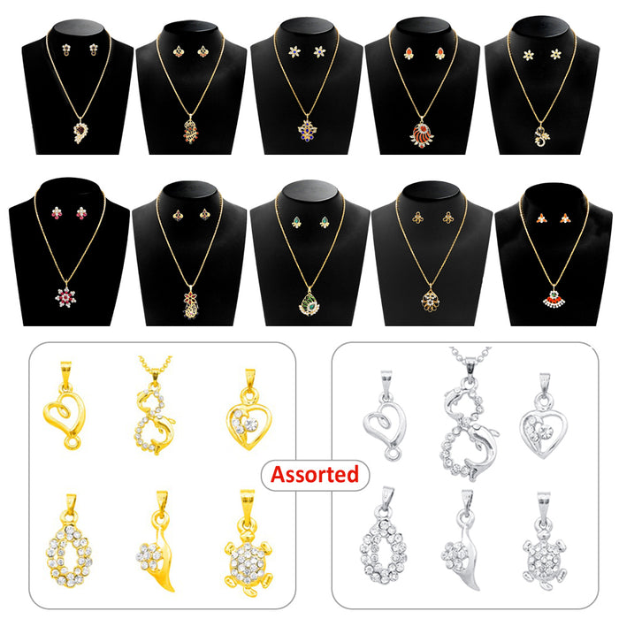 14Fashions Set of 12 Jewellery Combo Set - Jewelmaze.com