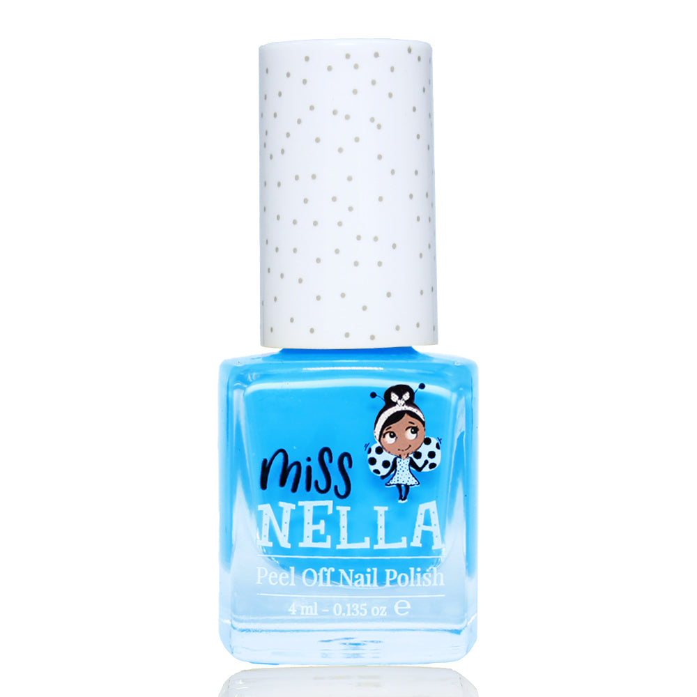 Mermaid Blue 4ml Peel off Kids Nail Polish