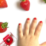 Strawberry'n'Cream 4ml Peel off Kids Nail Polish