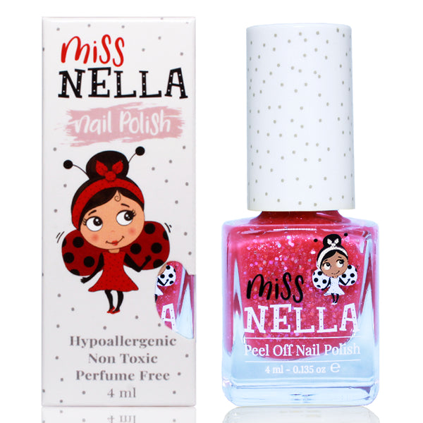 Sugar Hugs Glitter 4ml Peel off Kids Nail Polish