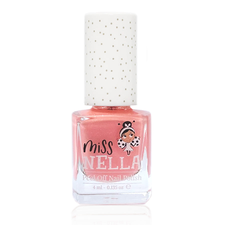 Peach Slushie 4ml Peel off Kids Nail Polish