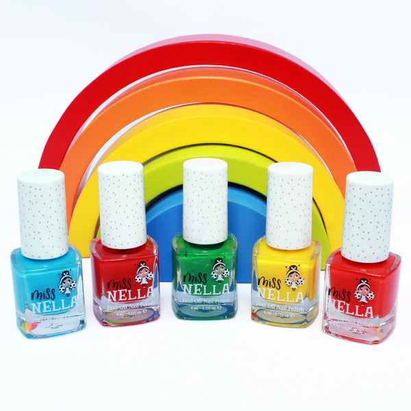 Sun Kissed 4ml Peel off Kids Nail Polish