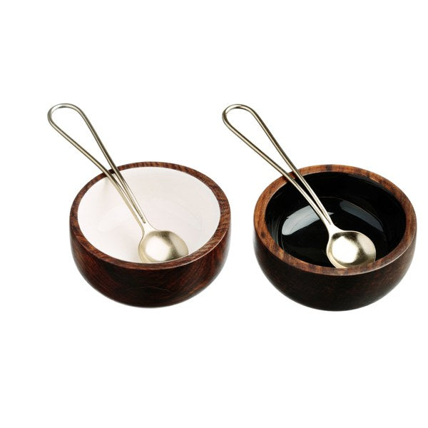 The Just Slate Company / Salt og peber skåle / Condiment-Set