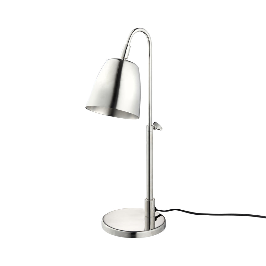 H. Skjalm P. / Nickel Bordlampe / 58LAMP012