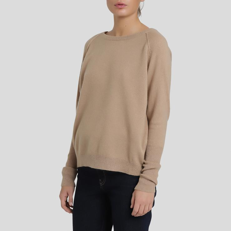 CARE BY ME / Bluse, Faith, Camel, cashmere / Camel-S