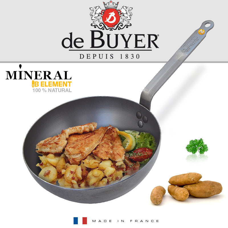 De Buyer / Saute stegepande, Mineral B Element, 24 cm. / 5614.24