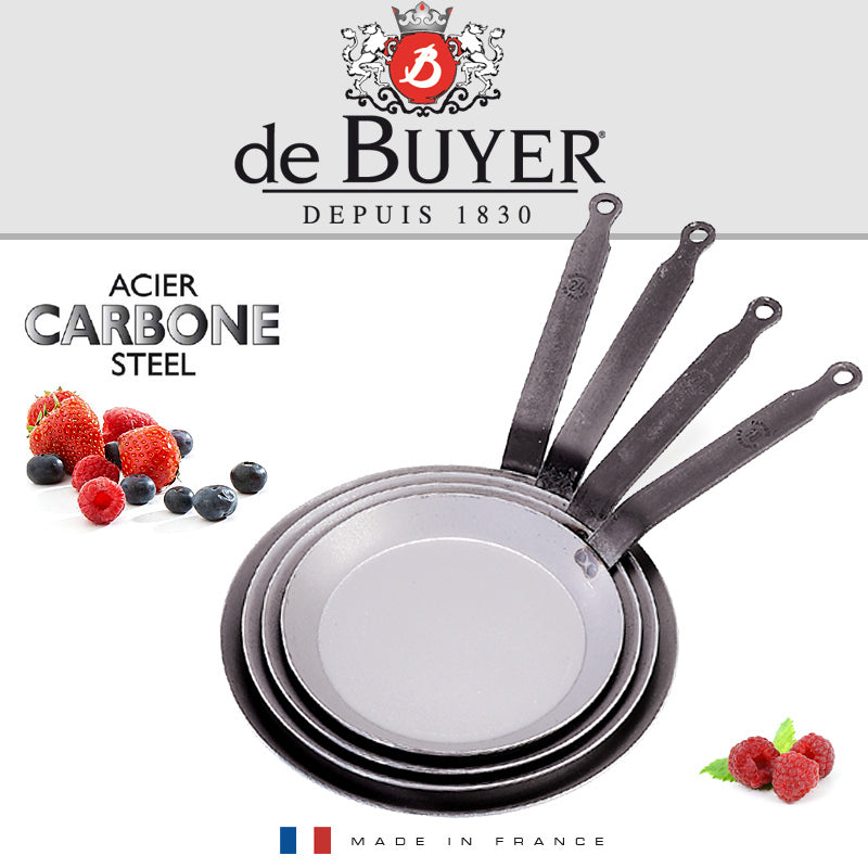 De Buyer / Pandekagepande Carbon Plus, 18 cm. / 5120.18