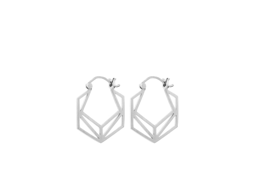Pernille Corydon / Øreringe, sølv, Icon Earrings / e-600-s
