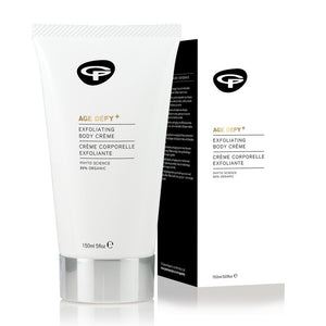 AGE DEFY+ EXFOLIATING BODY CREAM 150 ML.